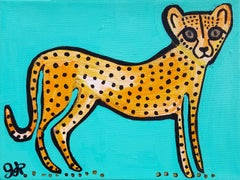 Cheetah, Original Painting