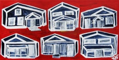 Houses on Red