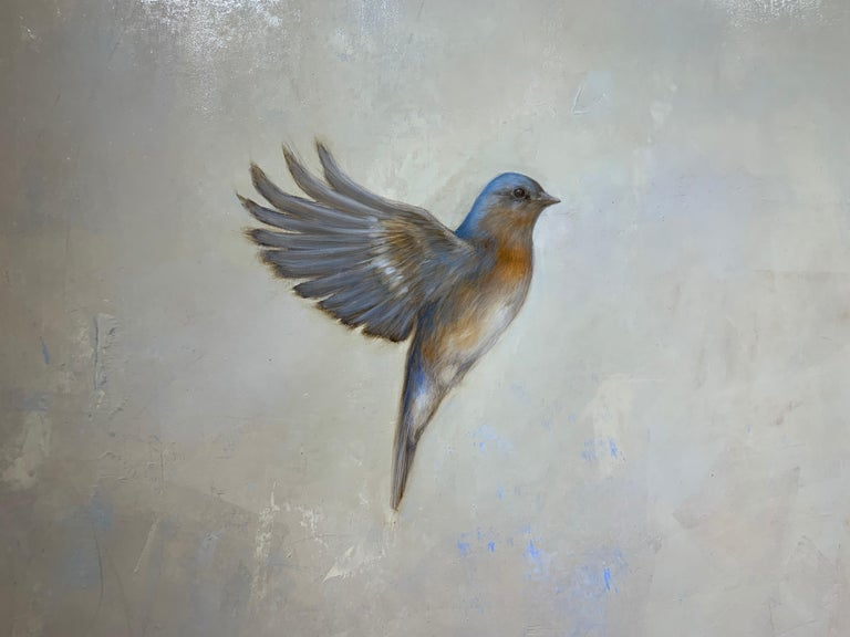 Coming Together by Jessica Pisano, Contemporary Bird Painting on Board 5