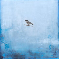Smoke and Mirror by Jessica Pisano, Contemporary Bird Painting on Board