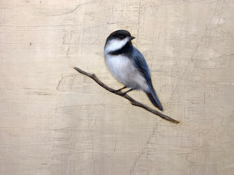 The Traveler by Jessica Pisano, Contemporary Bird Painting on Board 6