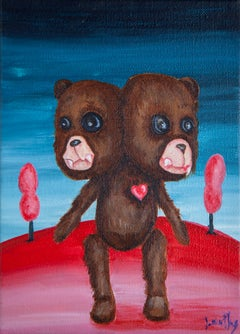 Two heads bear