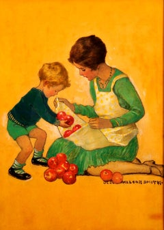 Mom with Apples, Good Housekeeping Cover