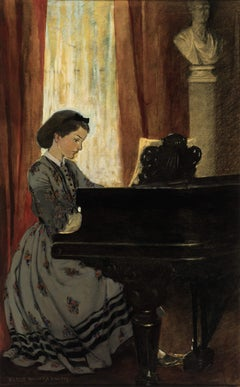 The Great Drawing- Room Was Haunted by a Tuneful Spirit That Came and Went