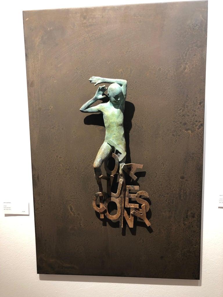 Dream I - Sculpture by Jesus Curia Perez