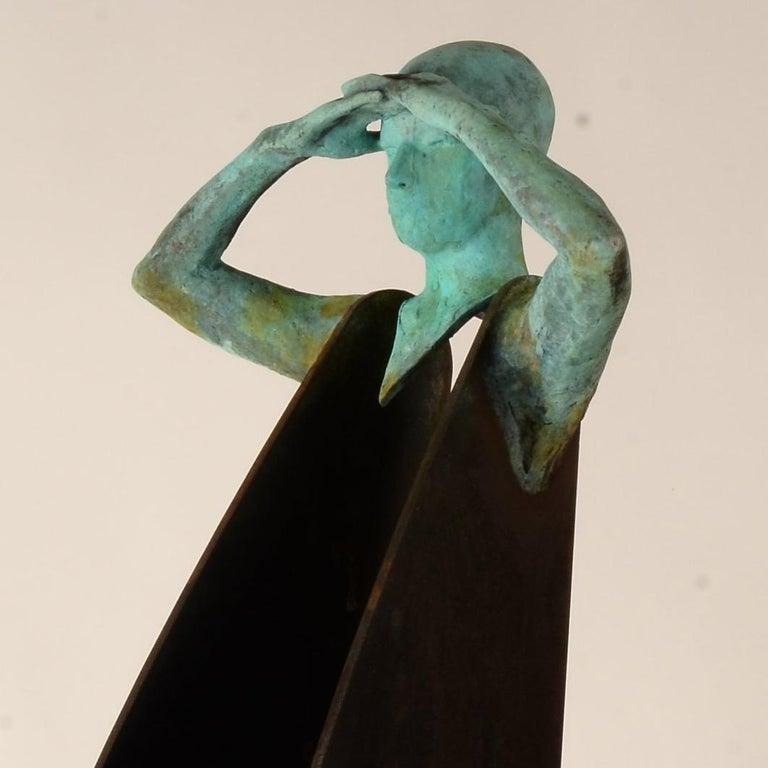 Horizonte IV - Contemporary Sculpture by Jesus Curia Perez