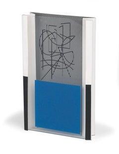 Jesus Rafael Soto Sculpture Signed Lettre du Venezula sold out w/Cert book