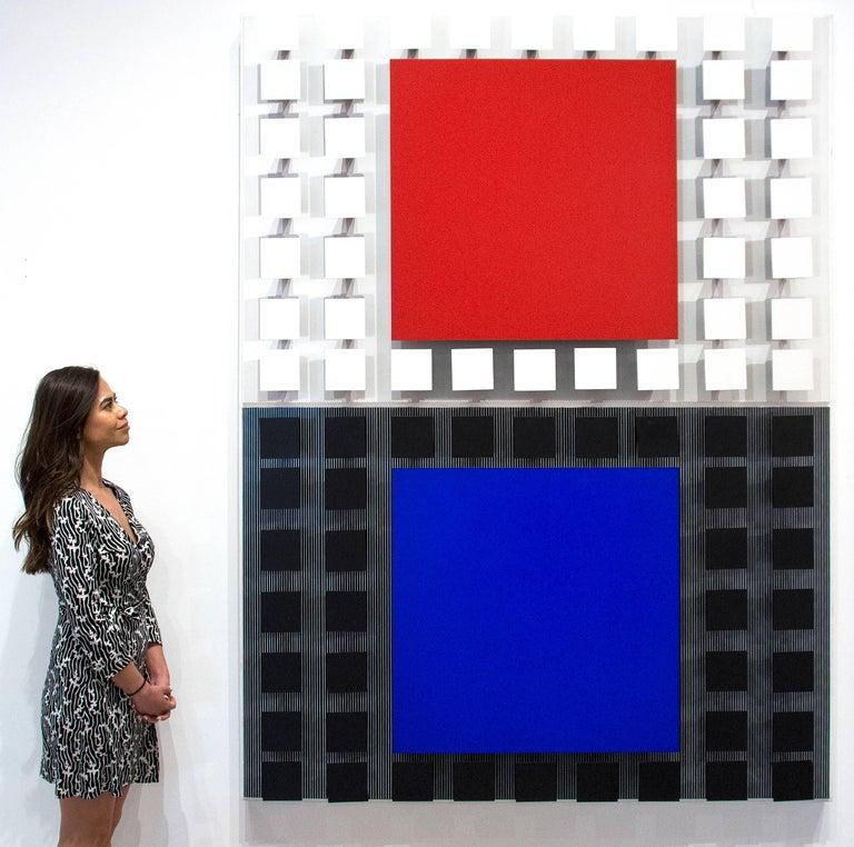 Azul con Rojo For Sale 3