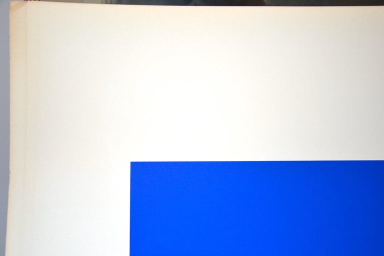 Untitled, (Black And Silver), Original Screen Print 1970s For Sale 3
