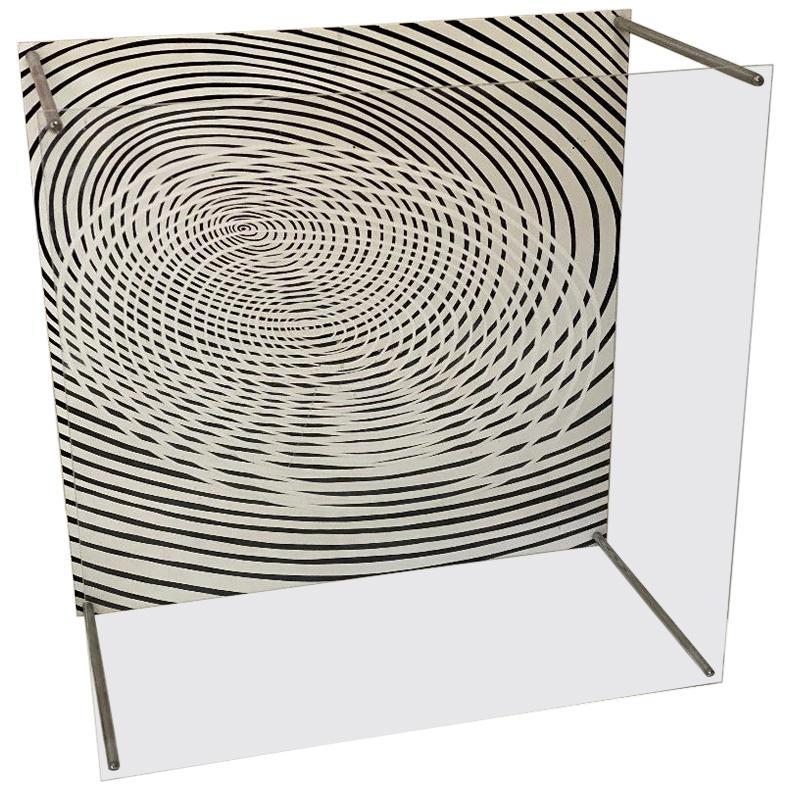Jesus Rafael Soto Acrylic Sculpture/Geometric/Construction Op Art Signed, 74/100