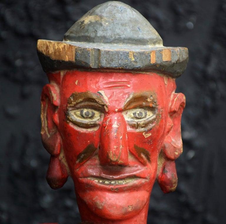Folk Art Jeu de Massacre Set For Sale