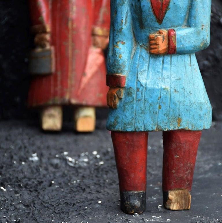 Hand-Carved Jeu de Massacre Set For Sale