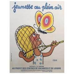 'Jeunesse au Plein Air', by V. Morvan & L. Kouper Original Vinage French Poster