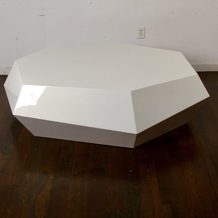 A coffee table like no other. From the mind of Samuel Greg comes the physical embodiment of a great computer-generated design. Entitled 'Jewel