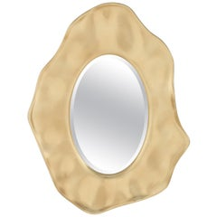 Jewel Mirror in Gold Leaf or Silver Leaf