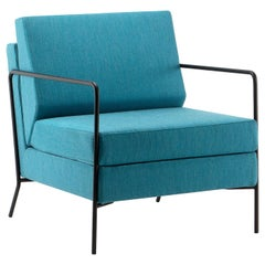 Jewel Teal Lounge Armchair