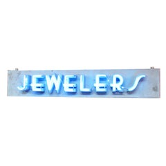 Jewelers Art Deco Neon Sign