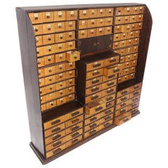 Jewelers Handmade Desktop Parts Cabinet