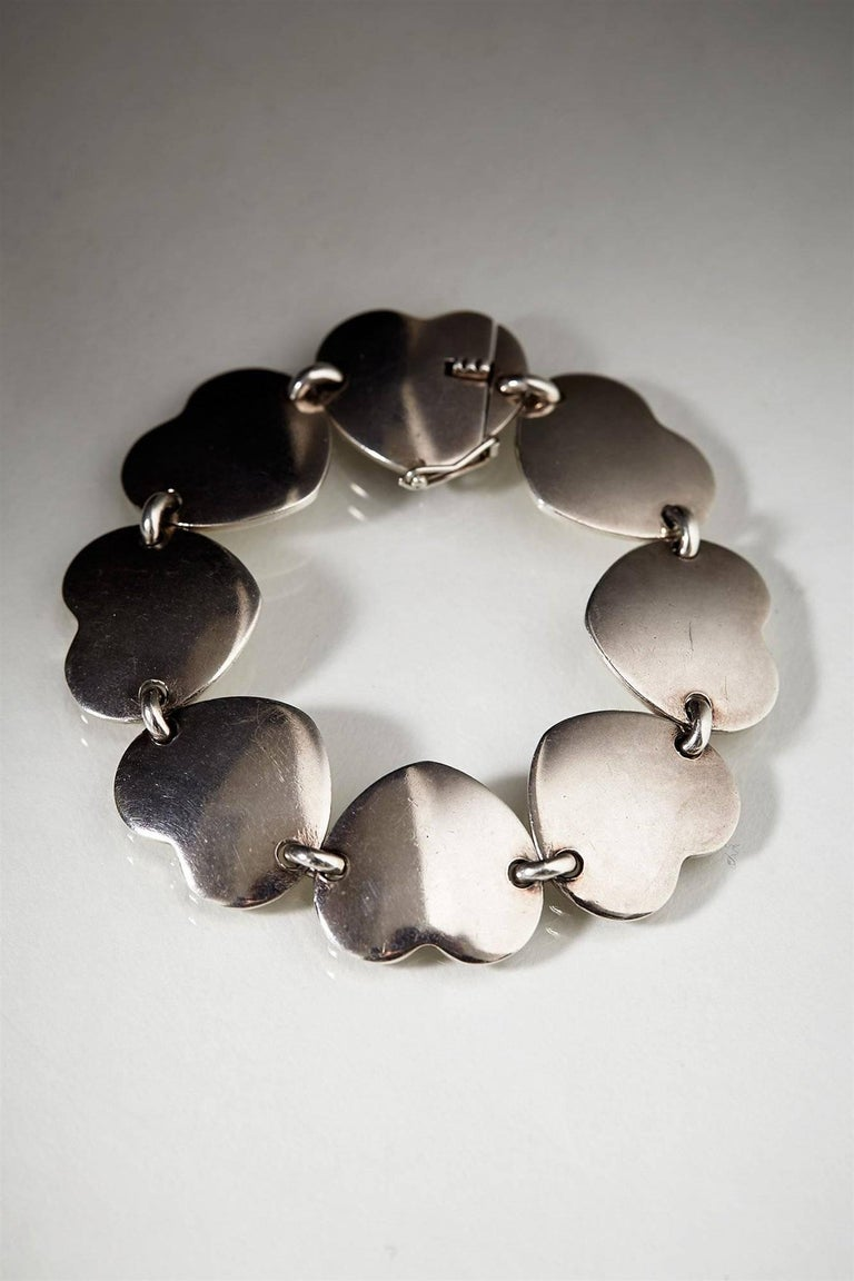 Jewellery Set, Anonymous, Denmark, 1950s For Sale at 1stdibs