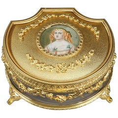 Jewelry Box with the Portrait of Madame de Sévigné