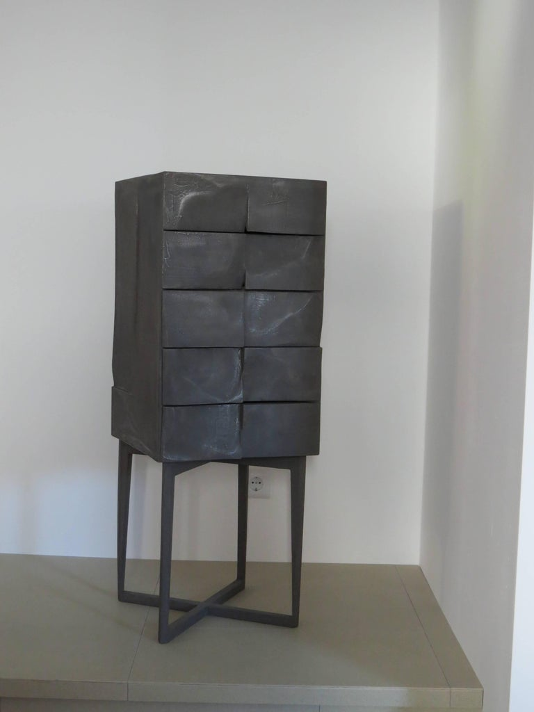 Industrial Jewelry Cabinet Titanium For Sale