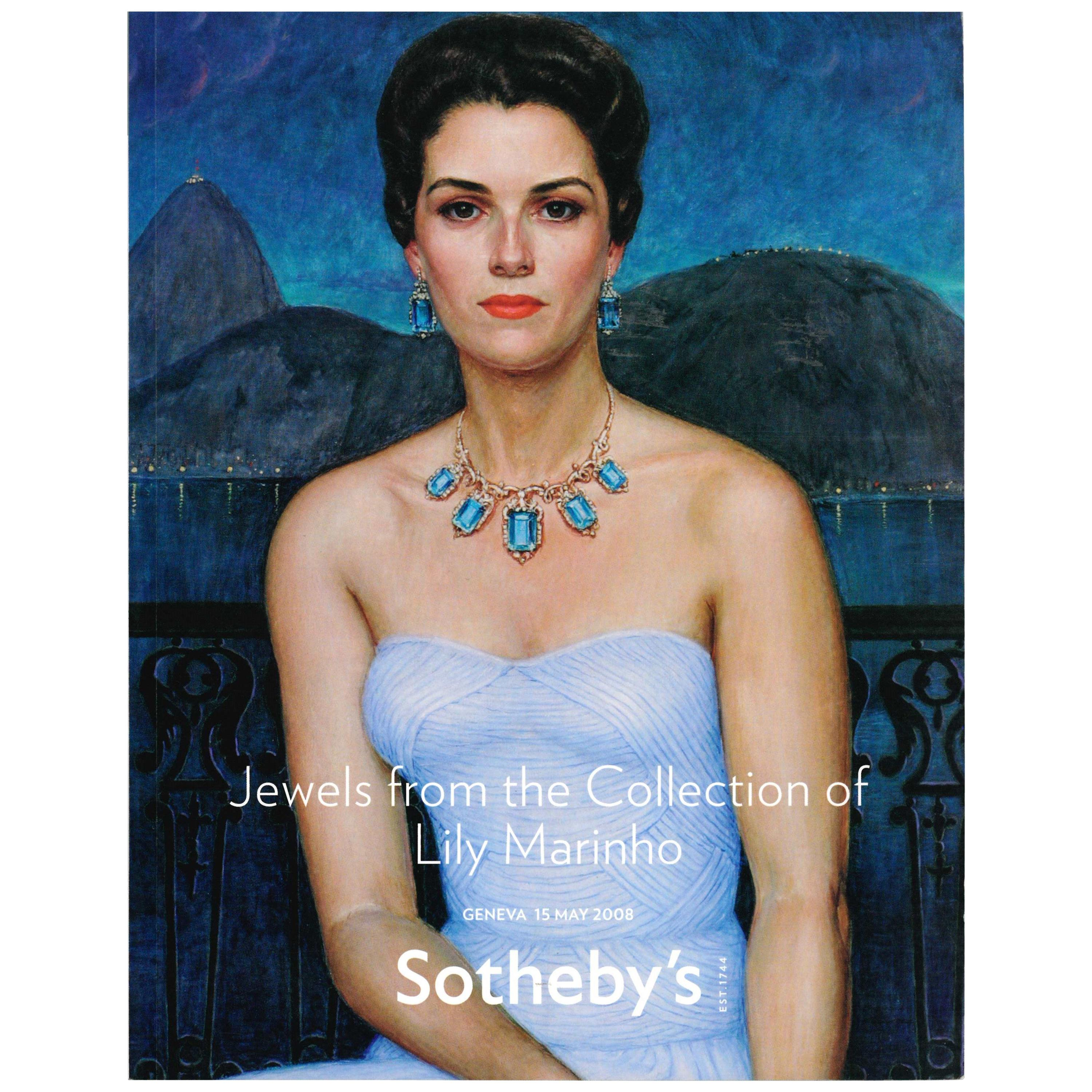 Jewels from the Collection of Lily Marinho, Sotheby's, 2008