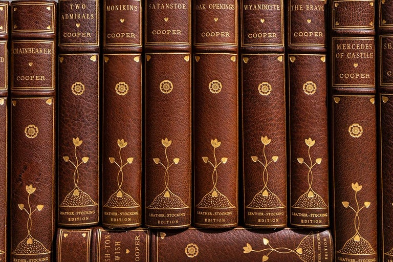 Early 20th Century J.F. Cooper, The Complete Works For Sale