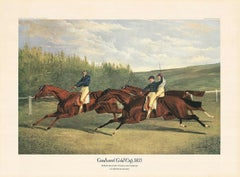 """Jf. Herring Senior - """"Goodwood Gold Cup 1833"""" - colour offset - dry stamp 'ADA'"""