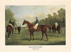 """Jf. Herring Senior - """"Goodwood Gold Cup 1834"""" - colour offset - dry stamp 'ADA'"""