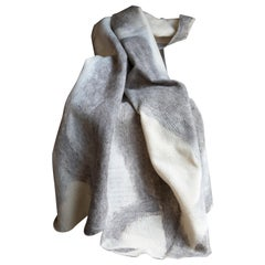 JG Switzer Artisan Wool Umber Throw, Heritage Sheep Collection