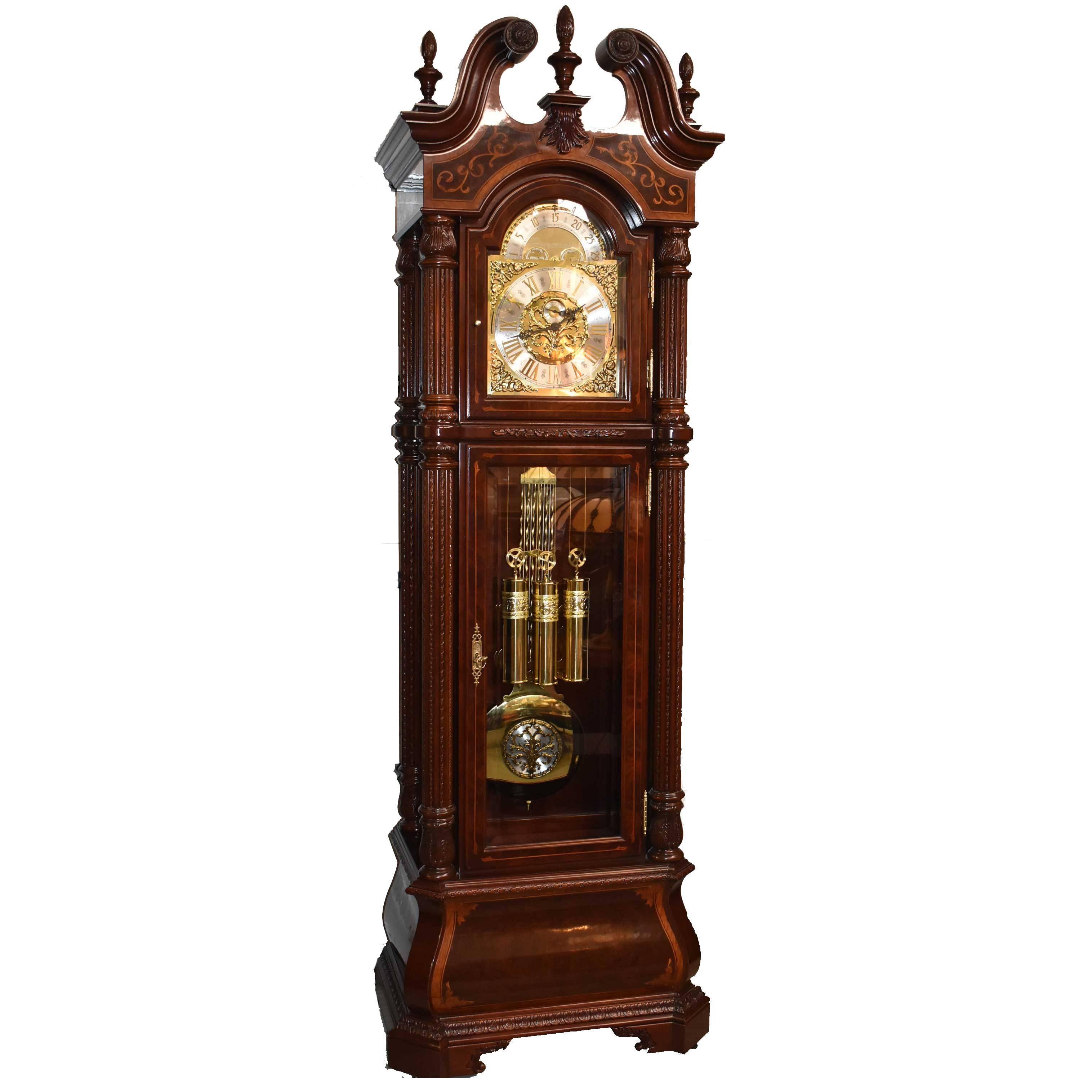 J.H. Miller Grandfather Floor Clock