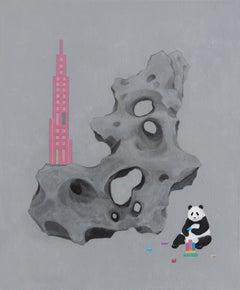 Chinese Contemporary Art by Jia Yuan-Hua - Dream Builder