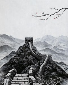 Chinese Contemporary Art by Jia Yuan-Hua - First Snow