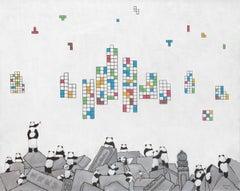 Chinese Contemporary Art by Jia Yuan-Hua - Lost World No.2