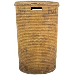 Jicarilla Lidded Storage Basket