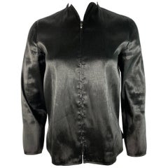 Jil Sander Black Long Sleeves Top Jacket, Size 34