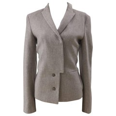 Jil Sander grey wool jacket