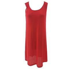 Jil Sander Red Dress