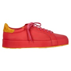 Jil Sander Woman Sneaker Orange, Red EU 37