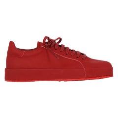 Jil Sander Woman Sneaker Red EU 37