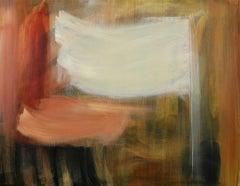 Jill Campbell, Autumn Clouds, Original Abstract Landscape Painting, Art Online