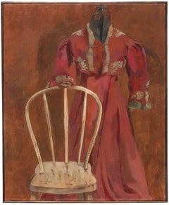 'Bentwood Chair, High-waist Gown', California Woman Post-Impressionist, Sonoma