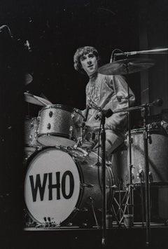 Keith Moon, The Who, Monterey Pop Festival Fine Art Print