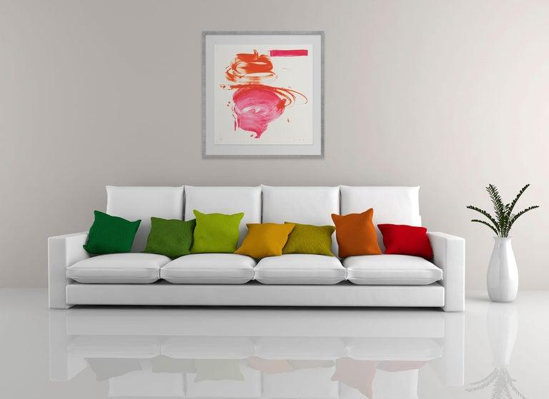 Pink Mama (Abstract print) - Print by Jill Moser