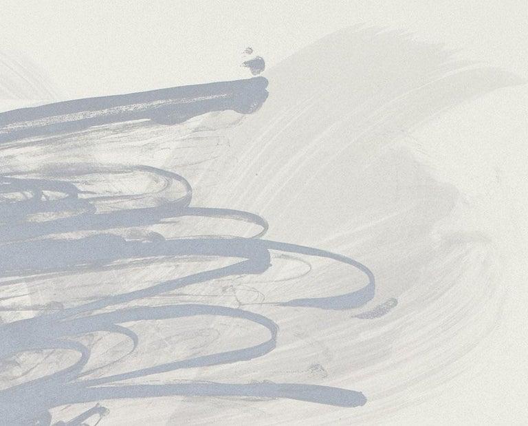 Virga (Abstract print) - Gray Abstract Print by Jill Moser