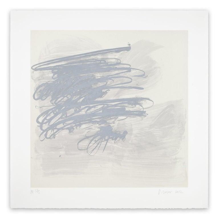 Jill Moser Abstract Print - Virga (Abstract print)