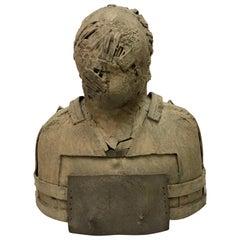 Jim Amaral Bronze Bust Sculpture