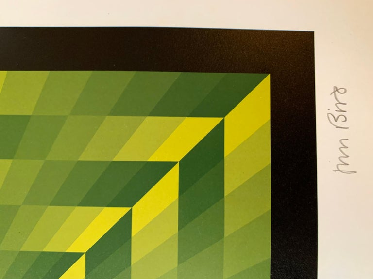 Jim Bird - tribute to Vasarely 16 For Sale 1