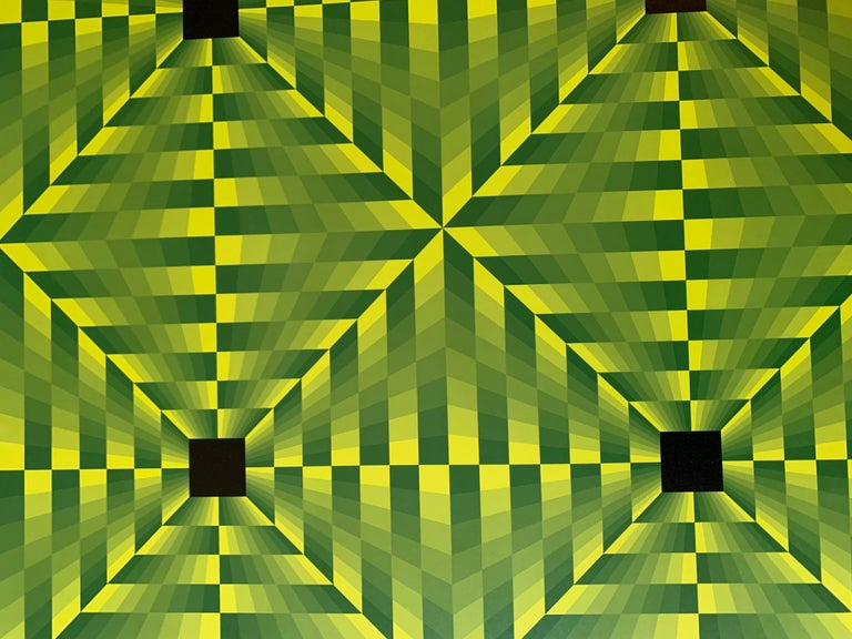 Jim Bird - tribute to Vasarely 16 For Sale 2
