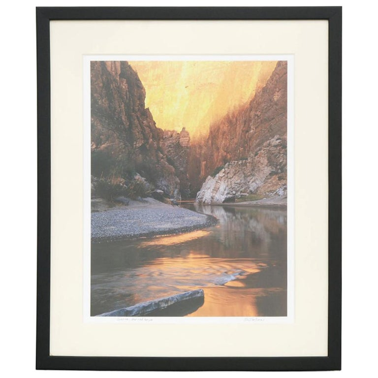 Jim Bones Photograph of Mariscal Canyon For Sale